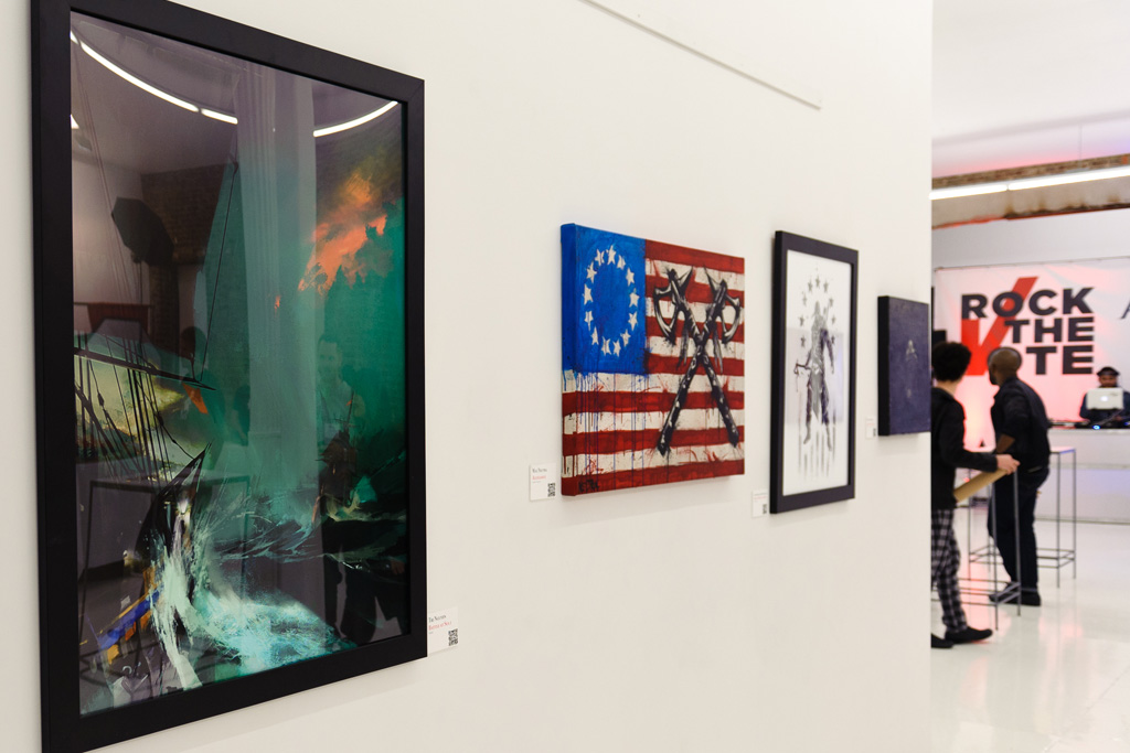 ubisofts assassins creed iii rock the vote art of the assassin new york city recap