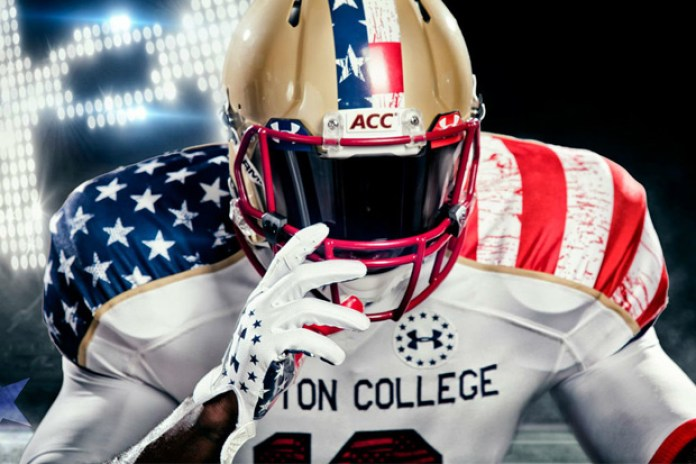 "Boston College x Under Armour ""Freedom"" Football Uniforms"