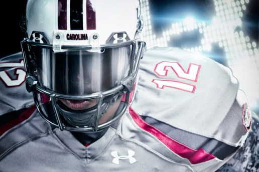 "Under Armour x South Carolina Custom ""Battle"" Football Uniforms"