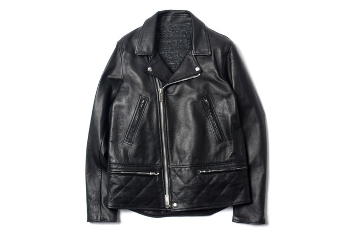 UNDERCOVER J4206-2 Leather Rider Jacket