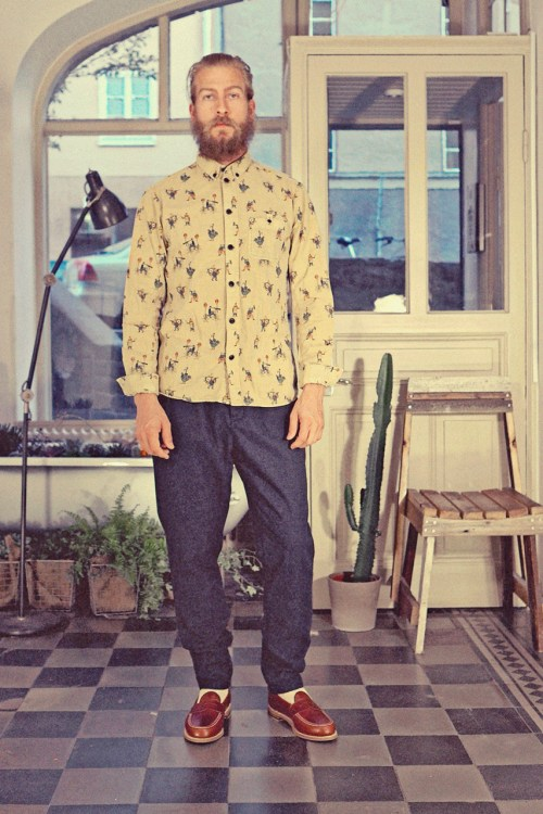 Uniforms for the Dedicated 2013 Spring/Summer Collection