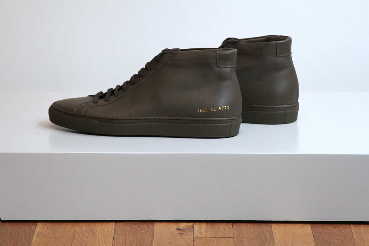 unis x common projects 2012 fall winter military