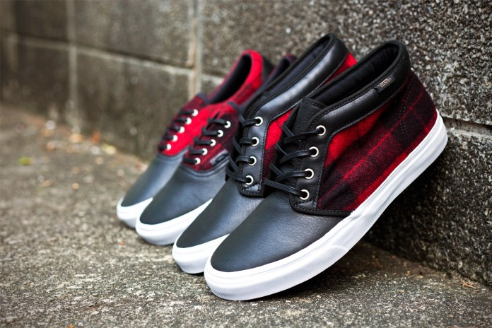 Vans California 2012 Fall/Winter Flannel Pack