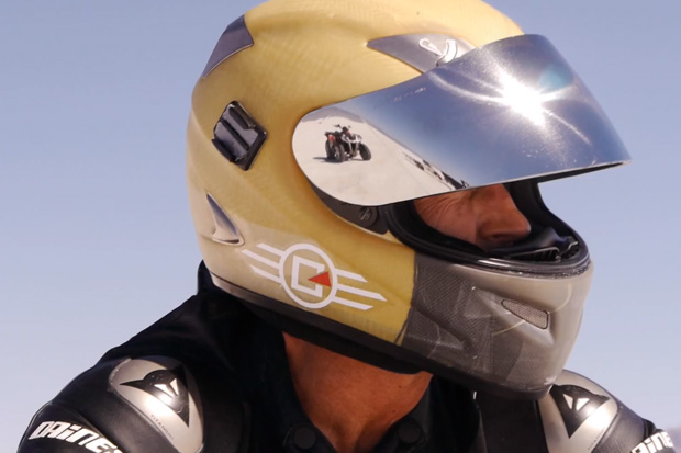 Watch James Hoegh Break 172 MPH on a Confederate X132 Motorcycle