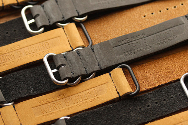 worn&wound Launches New Line of American-Made Watch Straps