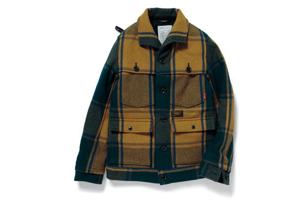 wtaps 2012 fall winter lumber jack wool melton