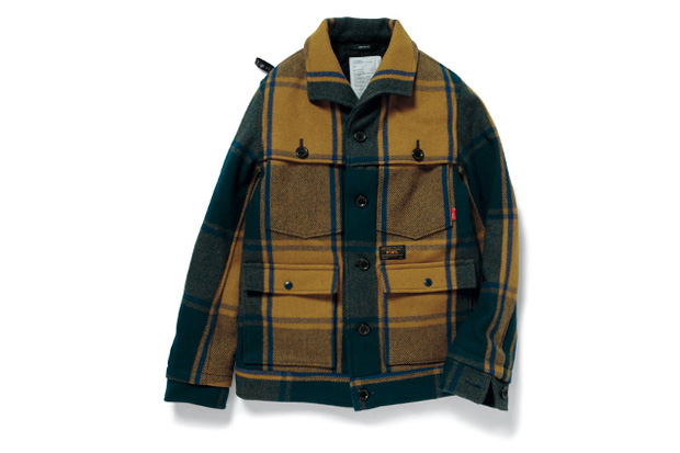 WTAPS 2012 Fall/Winter LUMBER JACK WOOL MELTON