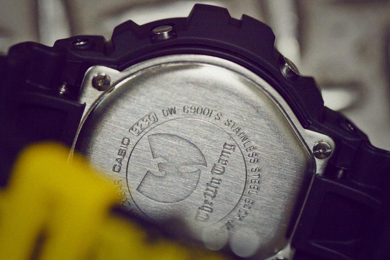 wu tang x casio g shock dw 6900 a closer look