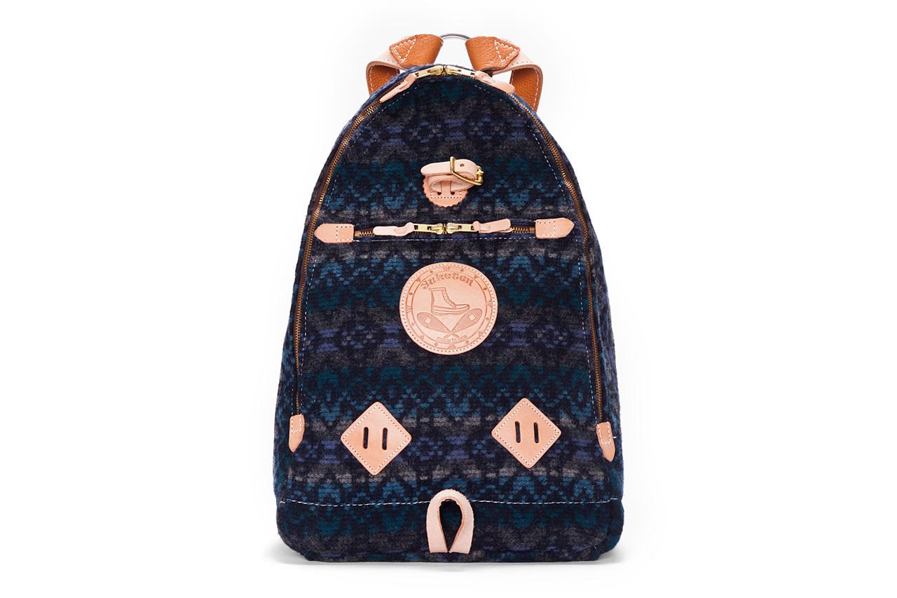 Yuketen Blue Triangle Backpack
