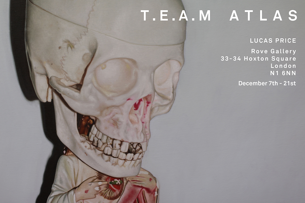 Lucas Price T.E.A.M Atlas Exhibition @ Rove Gallery