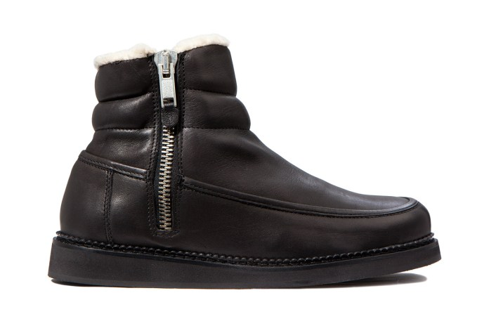 SILENT Damir Doma 2012 Fall/Winter Black Samaris Boot