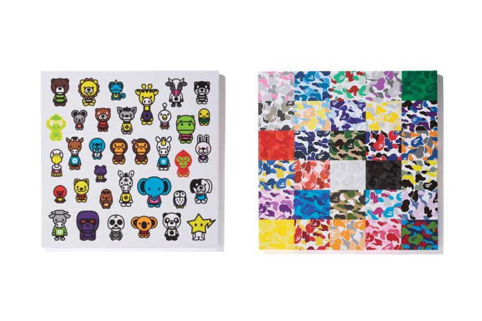 "A Bathing Ape 2012 ""BAPE SHOP CAMO CANVAS"" & ""MILO A to Z CANVAS"""