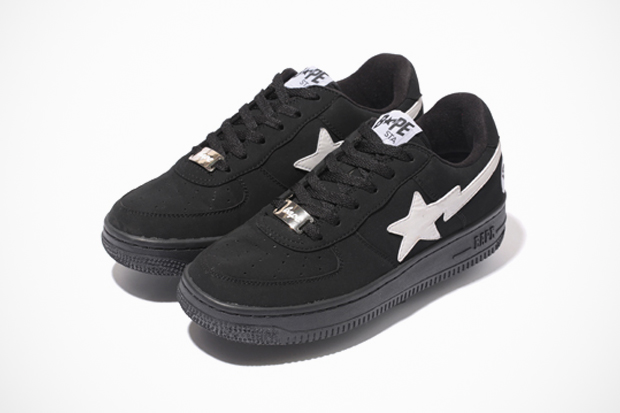 a bathing ape 2012 black friday bapesta