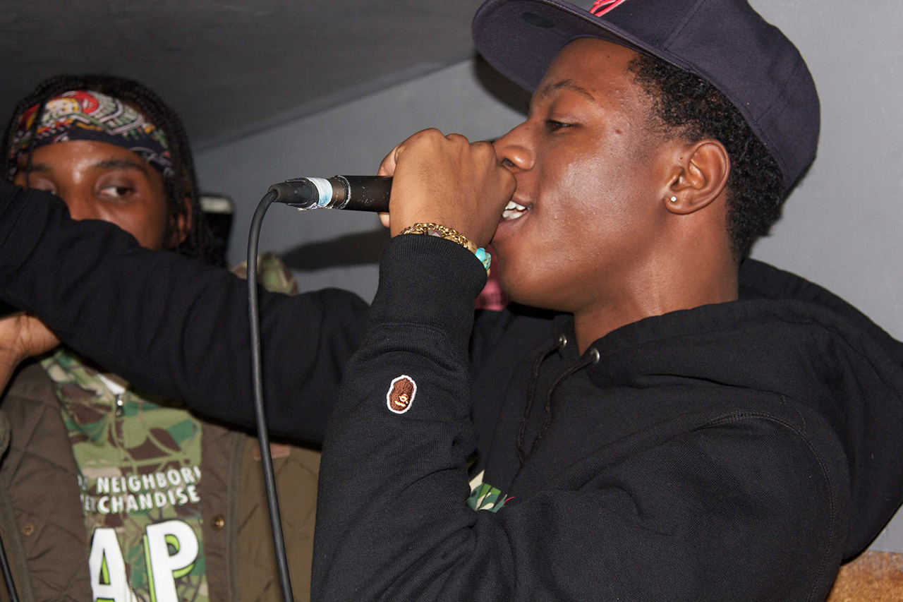 A Bathing Ape London 10th Anniversary Party with Joey Bada$$