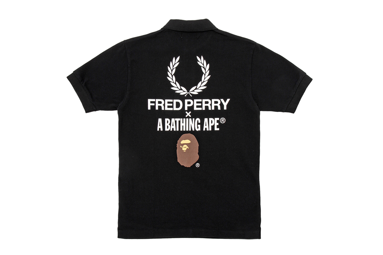 A Bathing Ape x Fred Perry 60th Anniversary Capsule Collection