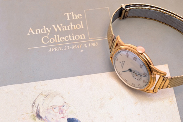 a look at andy warhols 1940s rolex