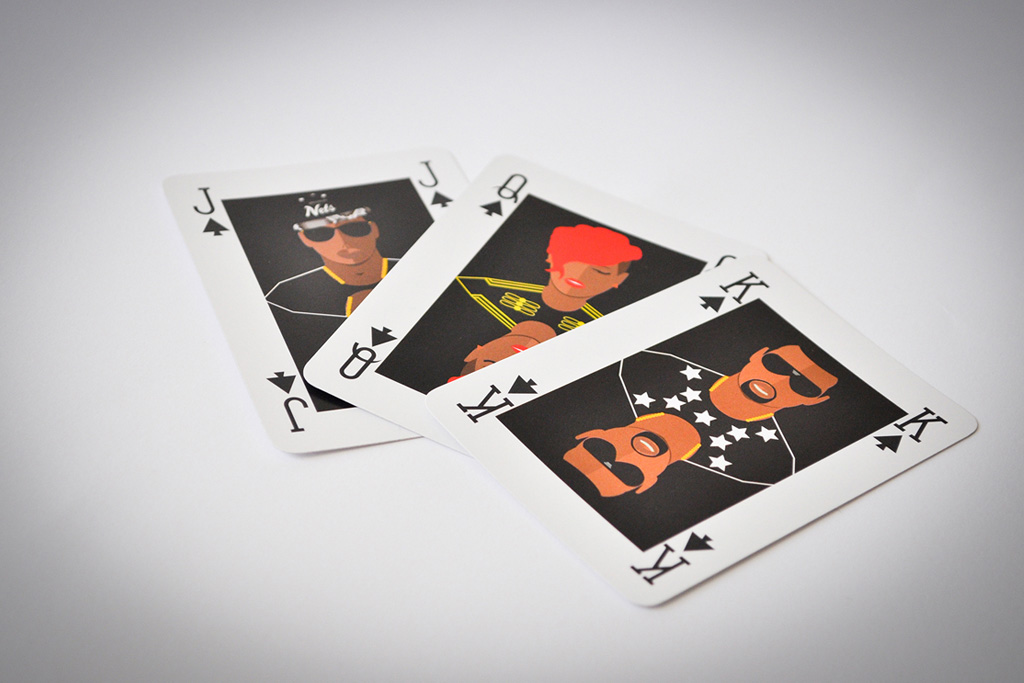 Playing Cards that Feature Your Favorite Pop Culture Icons