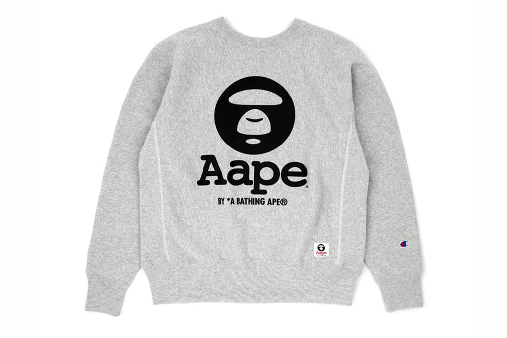 AAPE by A Bathing Ape x Champion Reverse Weave Collection
