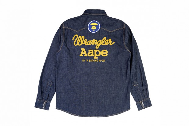 AAPE by A Bathing Ape x Wrangler 2012 Capsule Collection