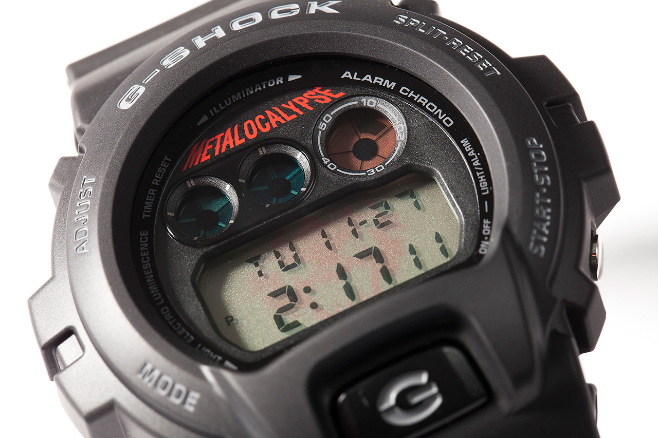 Adult Swim Metalocalypse x Casio G-Shock DW-6900