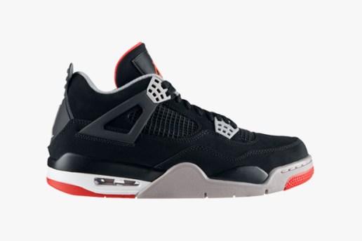 """Air Jordan IV """"Black/Red"""""""