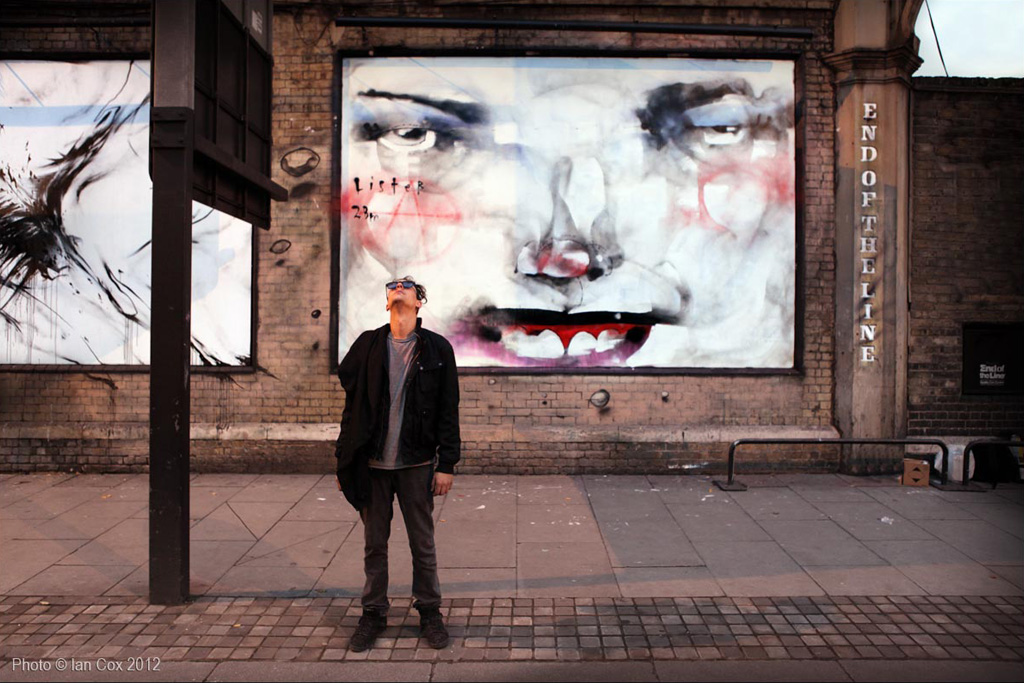 anthony lister unslung heroes mural london