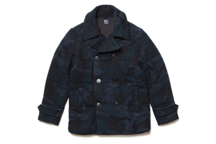 APPLEBUM Melton Wool P-Coat
