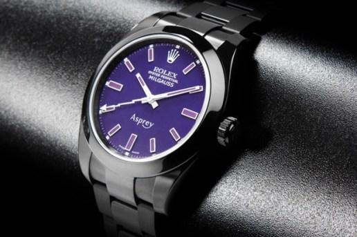 Asprey x Bamford Watch Department Custom Rolex Milgauss
