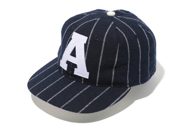 BAPE x Ebbets Field Flannels A Logo Wool Cap
