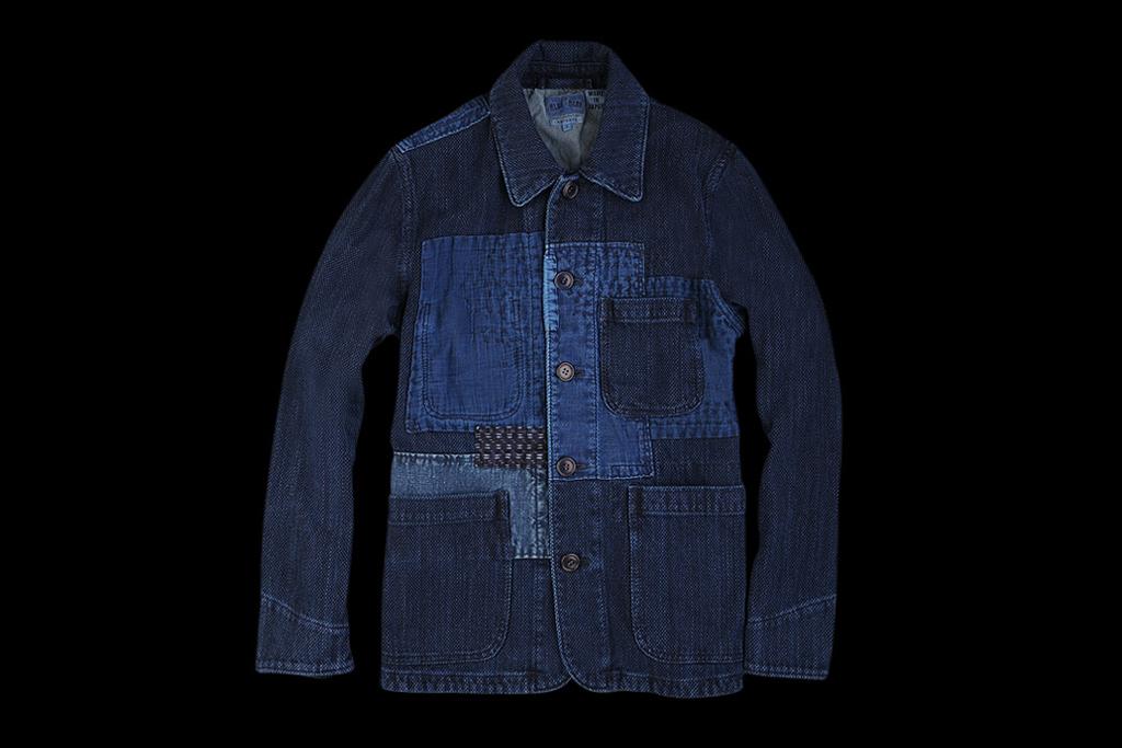 BLUE BLUE 2012 Fall/Winter Sashiko Fabric Coverall Jacket