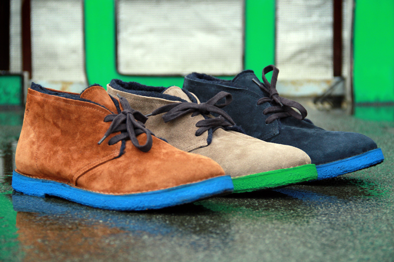 Buttero 2012 Fall/Winter Colored Sole Desert Boots