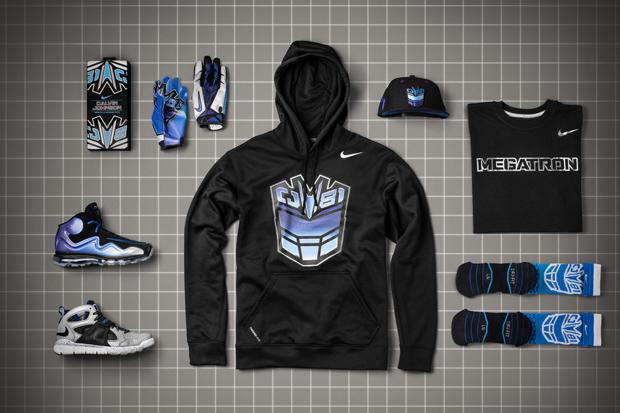 """Calvin Johnson x Nike """"Megatron"""" CJ81 Collection"""