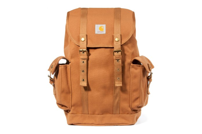 Carhartt WIP 2012 Fall/Winter Bag Collection