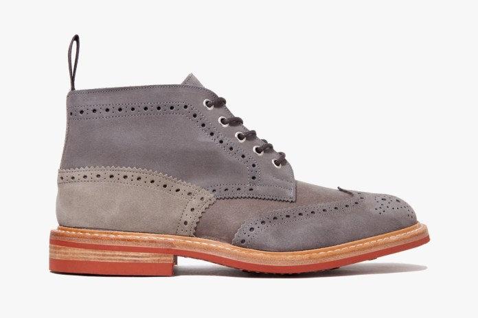 CASH CA x Tricker's 2012 Fall/Winter Derby Boots
