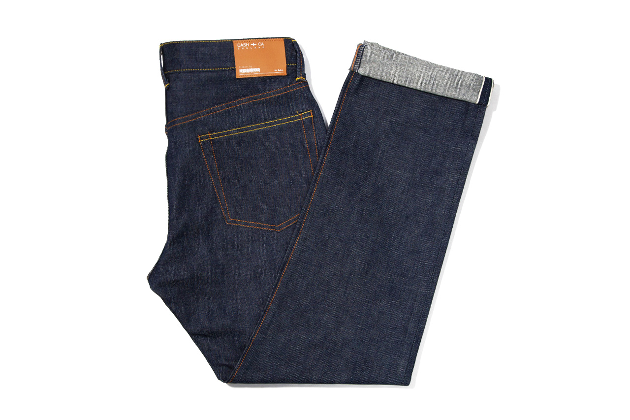 CASH CA x NEIGHBORHOOD Indigo Jeans