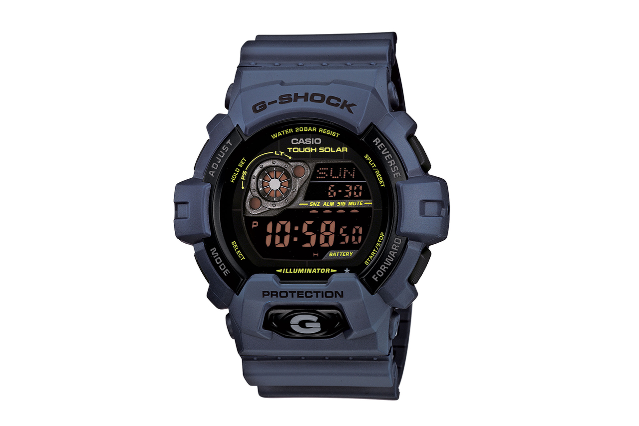 Casio G-Shock GR7900NV-2 and GR8900NV-2 Solar Military