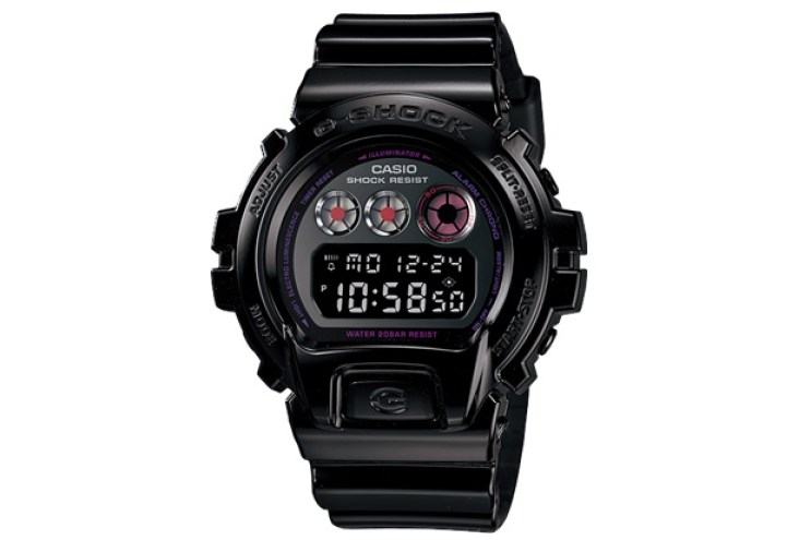 "Casio G-Shock Lovers Collection DW-6900 ""Blackberry"""