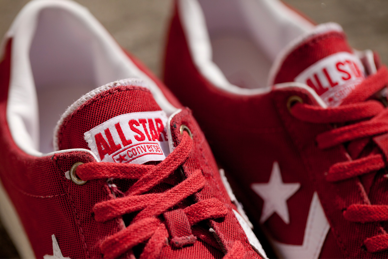 clot x converse first string pro leather low cut sneakers