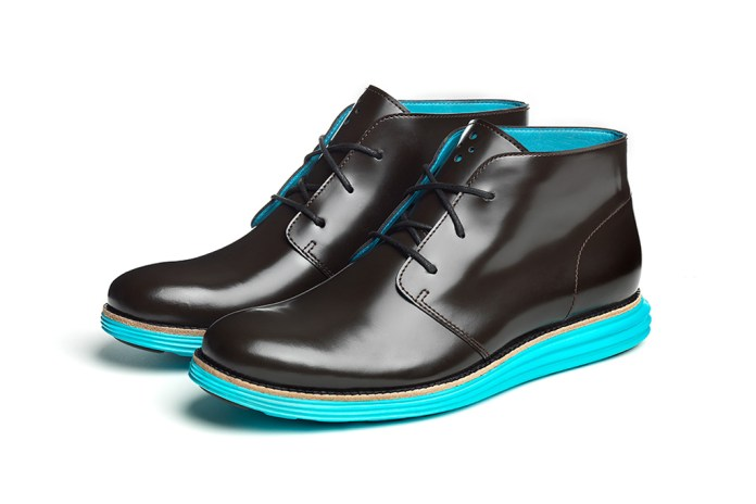 Cole Haan Waterproof & Reflective Cooper Square & LunarGrand Chukkas