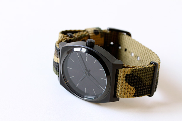 colette x Nixon Time Teller Camo Watch