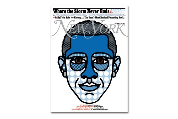 Craig & Karl's Craig Redman Celebrates Obama's Win in New York Magazine's Latest Issue