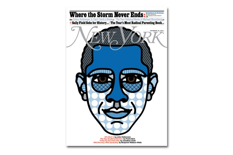 Craig & Karl's Craig Redman Celebrates Obama's Win in New York Magazine's Latest Issue