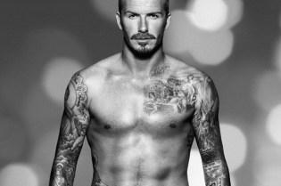 David Beckham for H&M Christmas Campaign