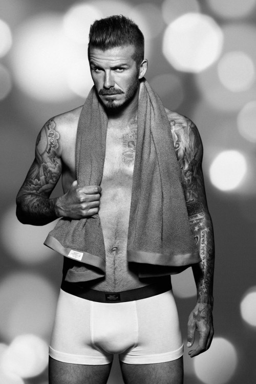 David Beckham for H&M Christmas Campaign