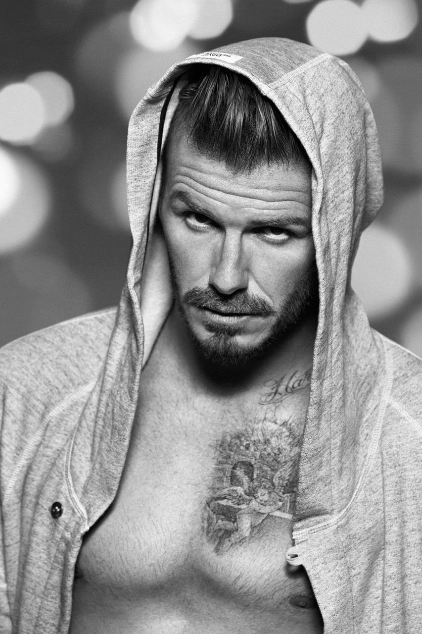 david beckham for hm christmas campaign