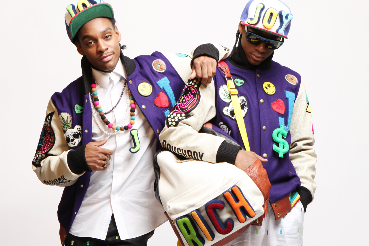 "Dee & Ricky x JOYRICH 2012 ""Wearable Plush Attire"" Capsule Collection"