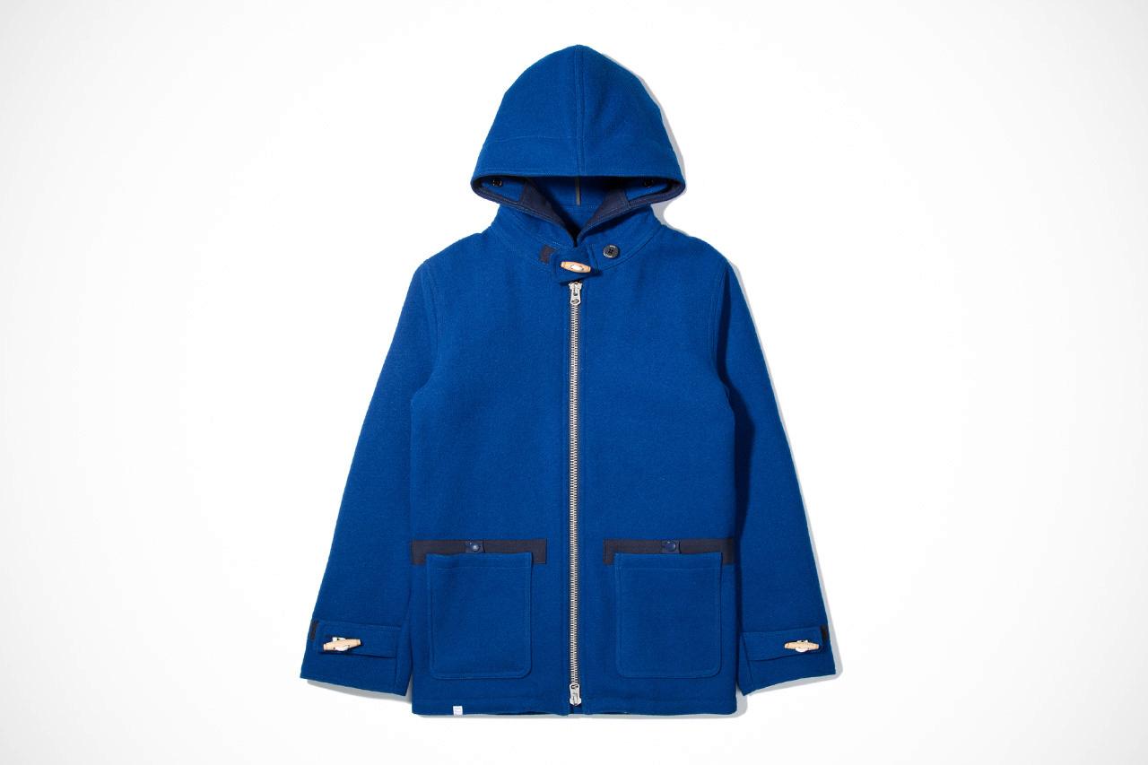 deluxe 2012 fall winter blue long journey jacket