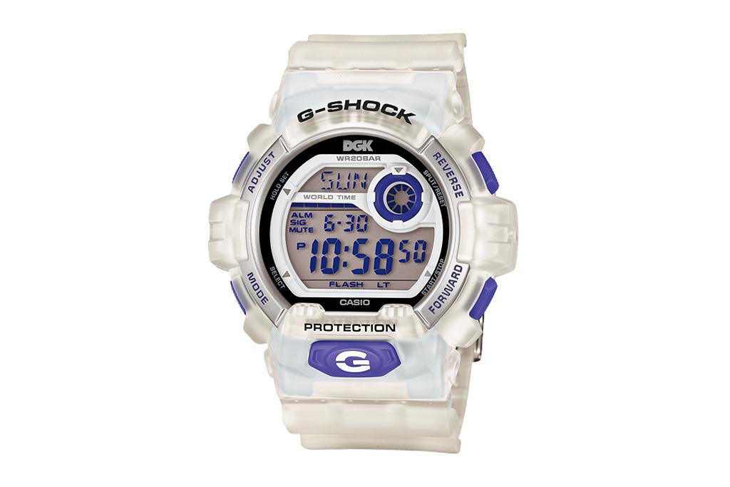 DGK x Casio G-Shock 7JR G-8900DGK
