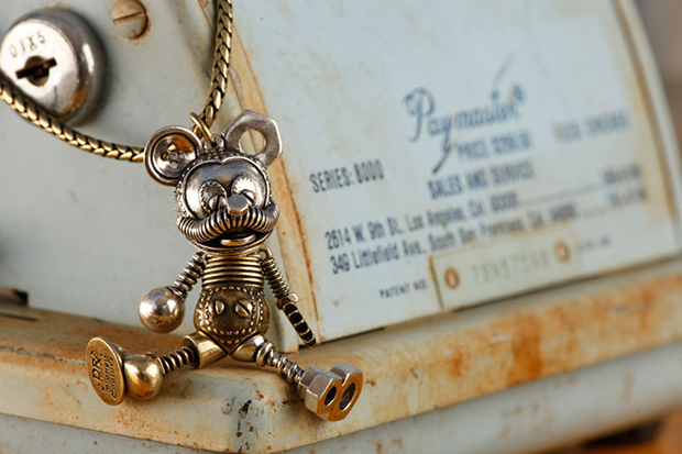 Dr. Romanelli Recycled Mickey Mouse Necklace