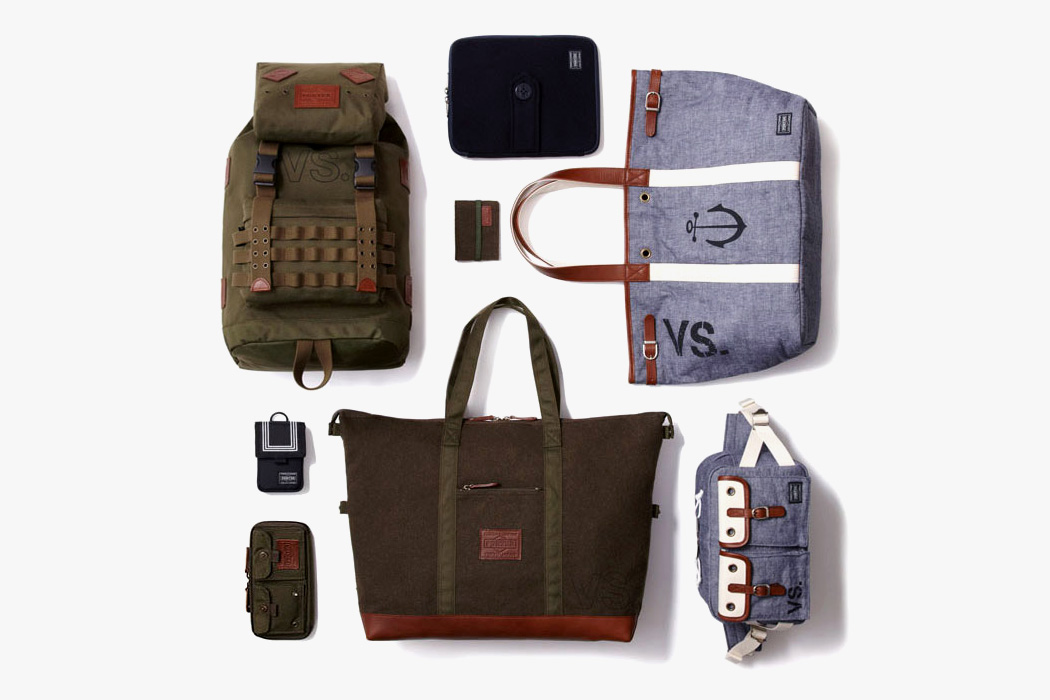 """Dr. Romanelli x Head Porter """"Army vs. Navy"""" Accessories Collection"""